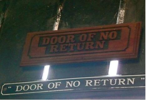 West africa glenn detrick for Door of no return